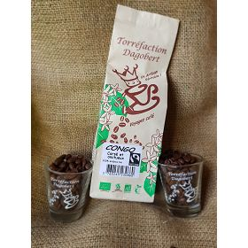 Cafe Congo bio 500 gr grains