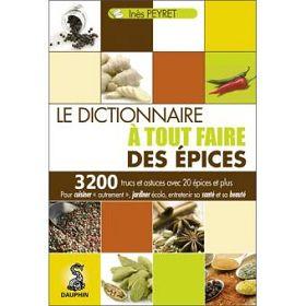Le dictionnaire épices